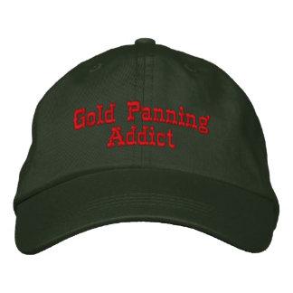 Adicto a la toma panorámica del oro que prospecta  gorras de beisbol bordadas