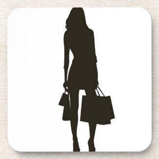Adicto a las compras posavaso