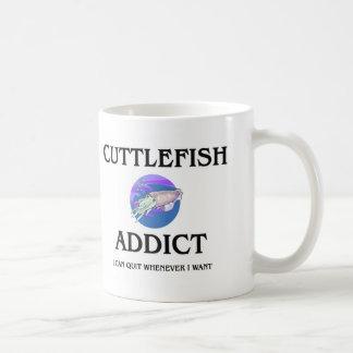 Adicto a las jibias taza de café