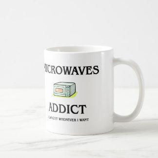Adicto a las microondas taza