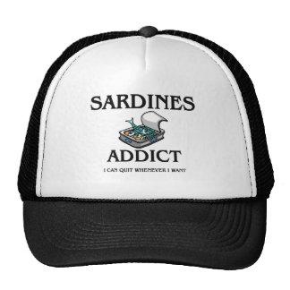 Adicto a las sardinas gorro de camionero