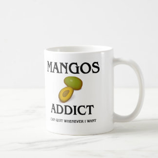 Adicto a los mangos taza clásica