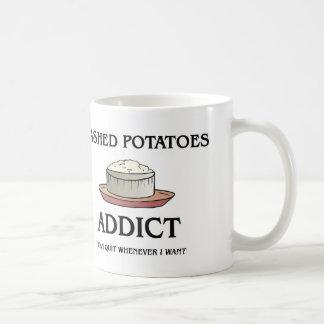 Adicto a los purés de patata taza de café