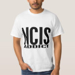 Adicto a NCIS Playera