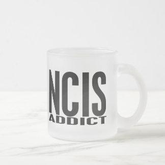 Adicto a NCIS Taza Cristal Mate