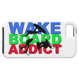 Adicto a Wakeboard iPhone 5 Funda