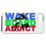 Adicto a Wakeboard iPhone 5 Fundas
