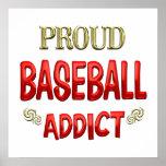 Adicto al béisbol posters
