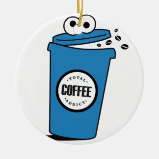 Adicto al café ornatos