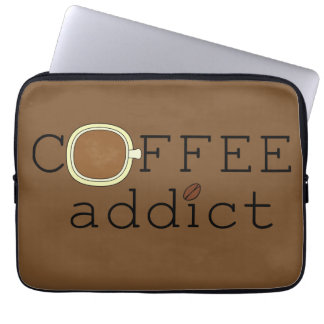 Adicto al café - elija el color manga computadora