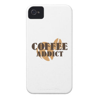 Adicto al café Case-Mate iPhone 4 carcasas