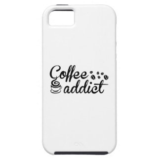 Adicto al café iPhone 5 coberturas