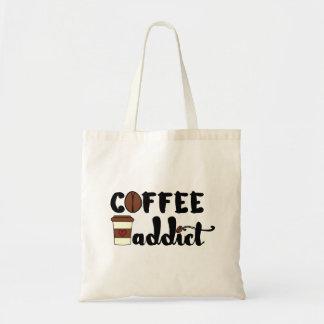 Adicto al café II Bolsa Tela Barata