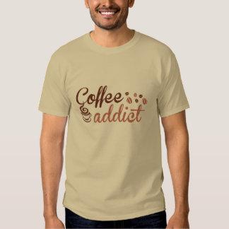 Adicto al café polera