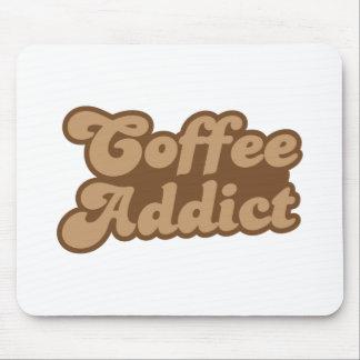 Adicto al café tapetes de ratones