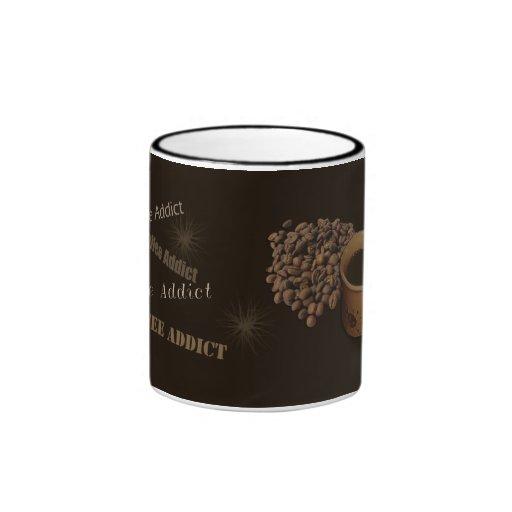 Adicto al café tazas