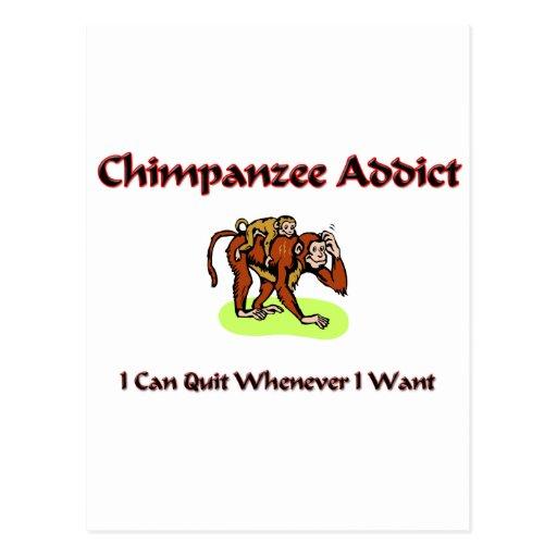Adicto al chimpancé postal