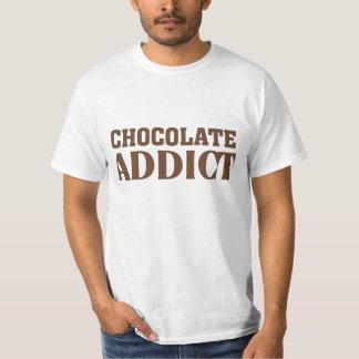 Adicto al chocolate playera