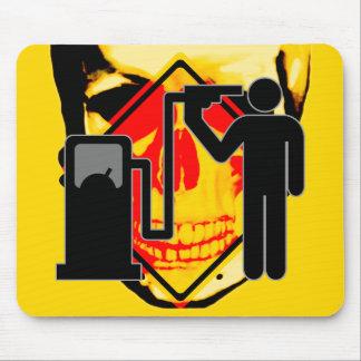 Adicto al combustible del kamikaze mousepad