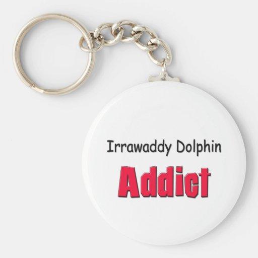 Adicto al delfín de Irrawaddy Llavero