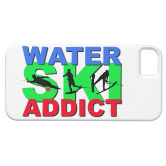 Adicto al esquí acuático funda para iPhone SE/5/5s