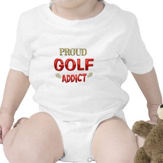 Adicto al golf trajes de bebé