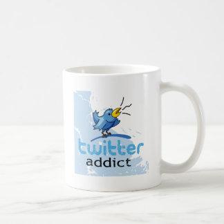 adicto al gorjeo tazas de café