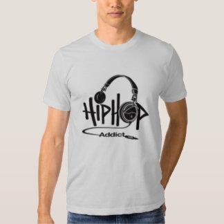 adicto al hip-hop poleras