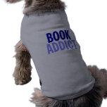 Adicto al libro camisetas de perrito