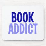 Adicto al libro tapetes de ratones