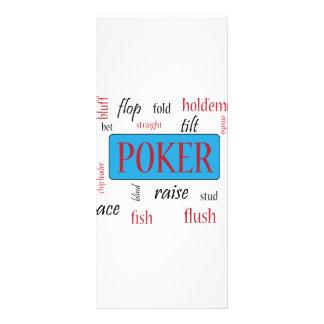Adicto al póker diseños de tarjetas publicitarias