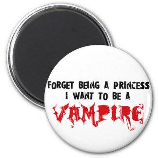 Adicto al romance del vampiro imán redondo 5 cm