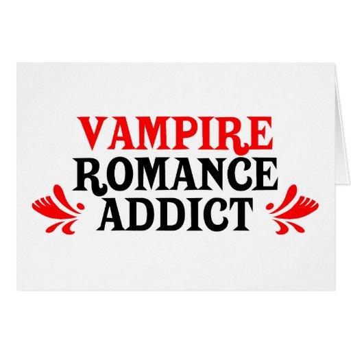 Adicto al romance del vampiro felicitaciones