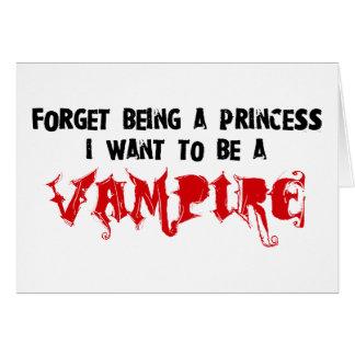 Adicto al romance del vampiro tarjeta de felicitación