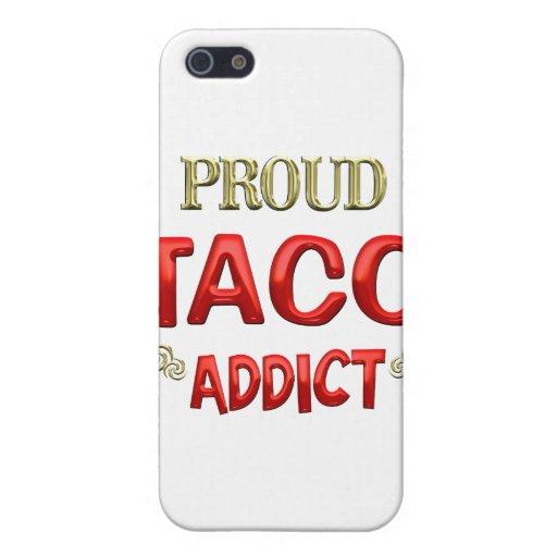 Adicto al Taco iPhone 5 Cárcasas