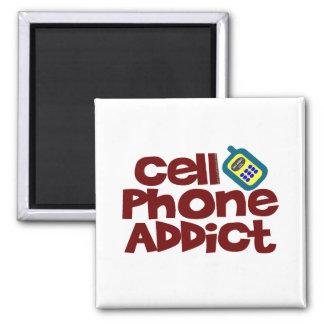 Adicto al teléfono celular iman