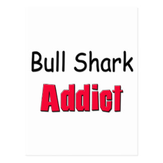 Adicto al tiburón de Bull Postal