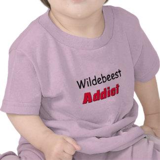Adicto al Wildebeest Camiseta