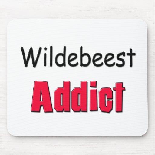 Adicto al Wildebeest Tapete De Raton