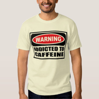 ADICTO amonestador a la camiseta de los hombres Remera