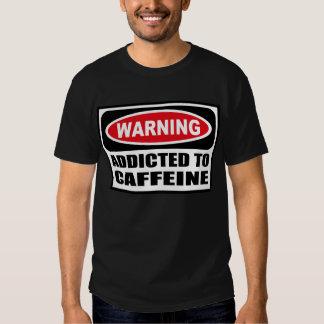 ADICTO amonestador a la camiseta oscura de los Remera