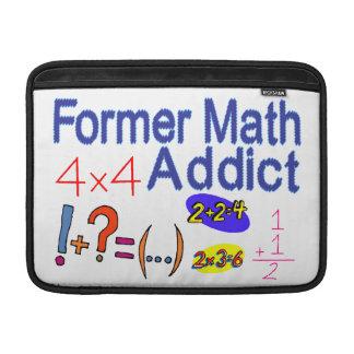 Adicto anterior a la matemáticas fundas MacBook