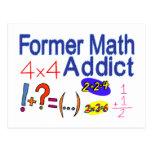 Adicto anterior a la matemáticas postales