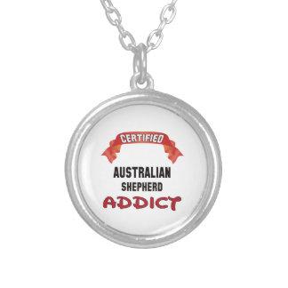Adicto australiano certificado al pastor colgante redondo