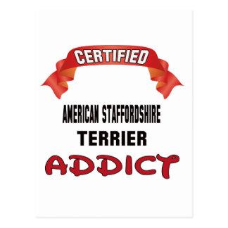 Adicto certificado a Staffordshire Terrier Postal