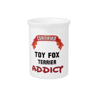 Adicto certificado al fox terrier del juguete jarrón