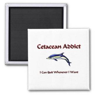 Adicto cetáceo imán
