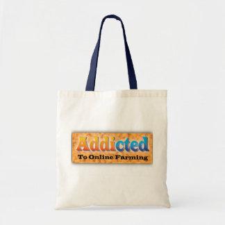 adicto-granjero bolsa tela barata