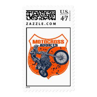 Adictos a Moto Timbres Postales