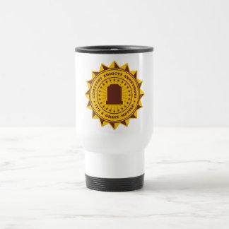 Adictos al cementerio anónimos taza de café